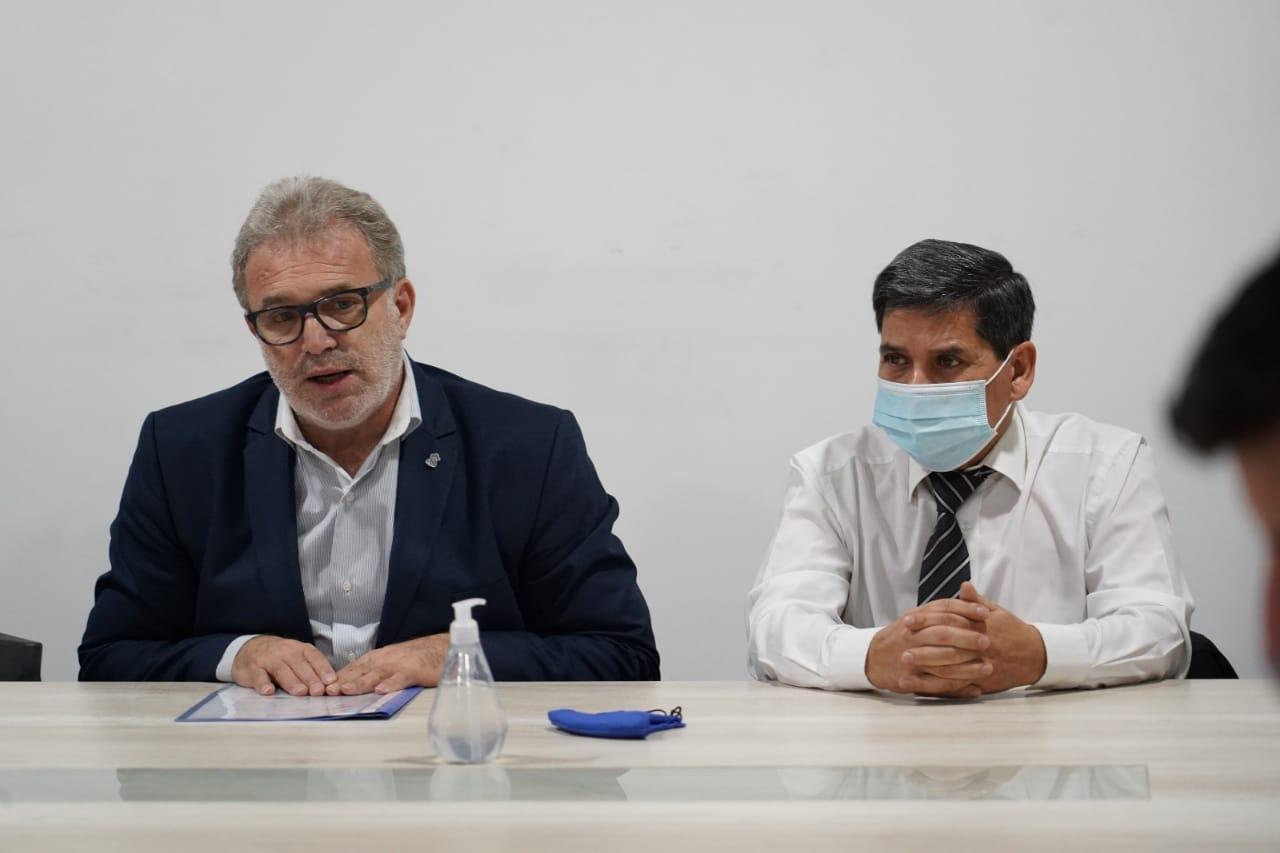 Mario Daniele y Juan Carlos Pino