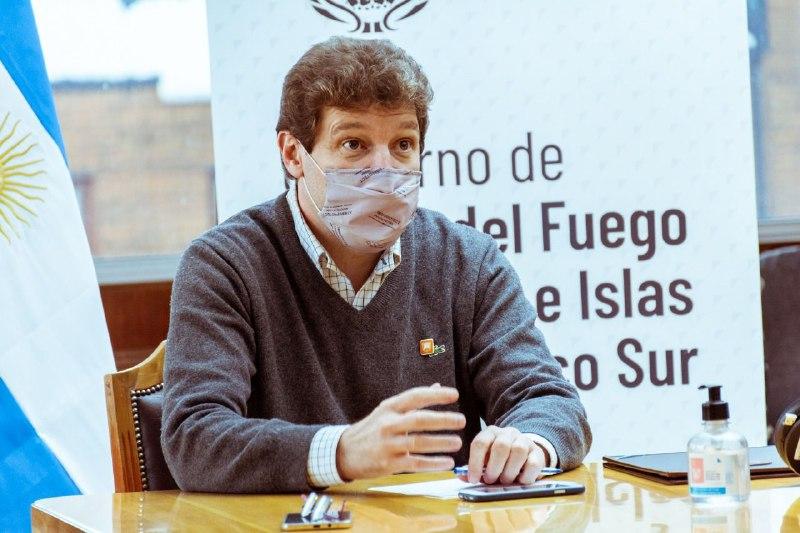 Gobernador de Tierra del Fuego, Antártida e Islas del Atlántico Sur, Gustavo Melella